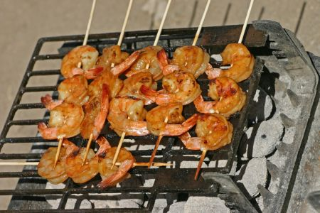 Shrimp on the BarBee!