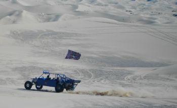 A sand rail enjoying a run through the dunes.