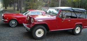 The Jeepster in Safari mode!