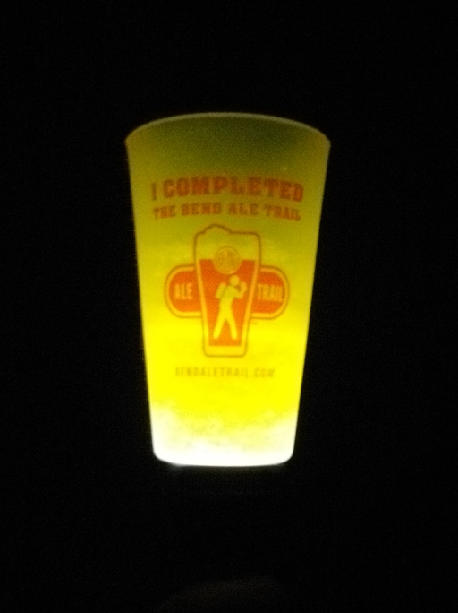 It glows in the dark (so you can find it?)! ; )